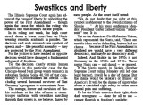 Swastikas and liberty