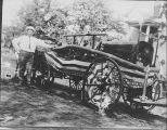 Niles Center (Skokie) Volunteer Fire Company 1914 Howe Pumper Photograph