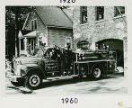 Skokie Fire Department 1960 Mack, B-Model Pumper Photograph