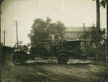 Niles Center (Skokie) Volunteer Fire Company 1917 US Motor Truck Photograph