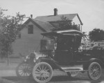Dr. A. Louise Klehm's Car Photograph