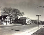 Oakton Street East from Keating Street Photograph, circa 1960