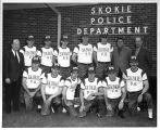 Skokie Police Department Softball Team Photograph
