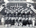 American Legion Post 320 Drum & Bugle Corps in New York, 1956