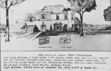 Real estate listing postcard for Colonial house at 9343 Hamlin St.