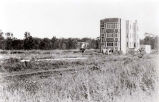 Three Flat Building Under Construction Photograph, 1928