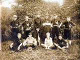 Niles Center Athletic Club Baseball Team Photograph, circa 1910