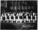 Lincoln School 1939 8th Grade Graduates Photograph