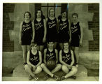 Niles Center High School Girls Basketball Team Photograph