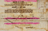 Vacation [surveyors document] of a Road & Opening a New Road Survey, December 19, 1896