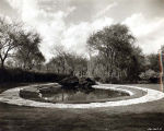 Skokie Park District Oakton Park Pond Photograph, 1950s