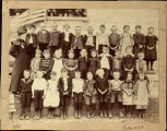 Niles Center Public School  1898 Class Photograph
