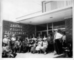 Skokie Police Department Building Dedication Photograph