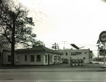 Pure Gas Station Photograph, circa 1960
