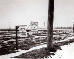 Niles Center Area For Sale Sign Photograph, circa 1927