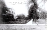 Floral Avenue North of Oakton Street Photograph, early 1900s