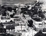 Aerial Photograph of Lincoln Avenue North from Oakton Street, 1926