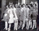 Niles Center Glamor Girls Group Photograph, circa 1922