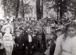 Klehms Picnic Grove Group Photograph, 1900s