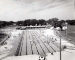 Skokie Park District  Oakton Park Pool Photograph, 1962