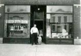 A. Kutz Plumbing And Heating Storefront Photograph, 1910