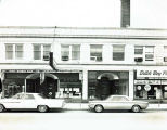 Oakton Street Businesses Photograph, circa 1960