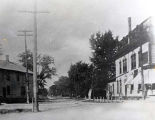 Oakton Street West from Lincoln Avenue Photograph, 1907