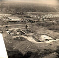 North Shore Hilton and Concourse Office Plaza under Construction Photograph, circa 1960