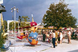 Fun Fair Amusement Park Helicopter Ride Photograph, 1960
