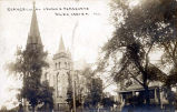 St. Peters Evangelical Lutheran Church and Parsonage Photograph, circa 1900