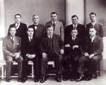 Luxembourg Brotherhood of America Officers Photograph, 1938