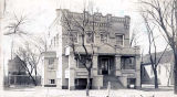 St. Peter Catholic Church Rectory Photograph, circa 1900
