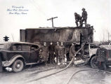 Firemen and Police at Accident Site Photograph, circa 1940