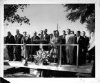 Skokie Valley Traditional Synagogue Groundbreaking Ceremony Photograph