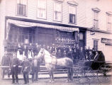 Samuel Meyer Groceries Building Photograph, circa 1900