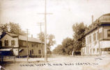 Oakton Street West of Lincoln Avenue Postcard, circa 1880