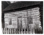 Historic Log Cabin on Floral Avenue Photograph, 1985