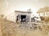 Lohrke Bros. Blacksmith Shop Photograph, circa 1902