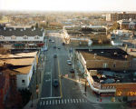 Lincoln Avenue South from St. Peters Church Steeple Photograph, 1994