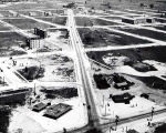 Aerial Photograph of Niles Center Road at Dempster Street, circa 1927