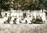 Cook County School Home Garden Club Group Photograph, circa 1910