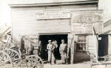 Schoening Wagon Maker Building Photograph, early 1900s