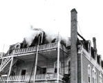 Blameuser Building Fire Photograph, 1940