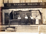 Klehm Brothers Building Storefront Photograph, 1906