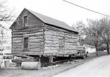 Historic Log Cabin Photograph, 1977
