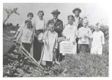 School Garden Club Photograph, circa 1910