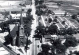 Aerial Photograph of Niles Center, Illinois, circa 1924