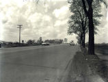 Skokie Boulevard North from Gross Point Road Photograph, circa 1960