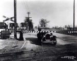 Oakton Street East Railroad Crossing Photograph, early 1920s