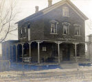 M. M. Gabel Stoves, Tin & Hardware Shop and Residence Postcard, early 1900s